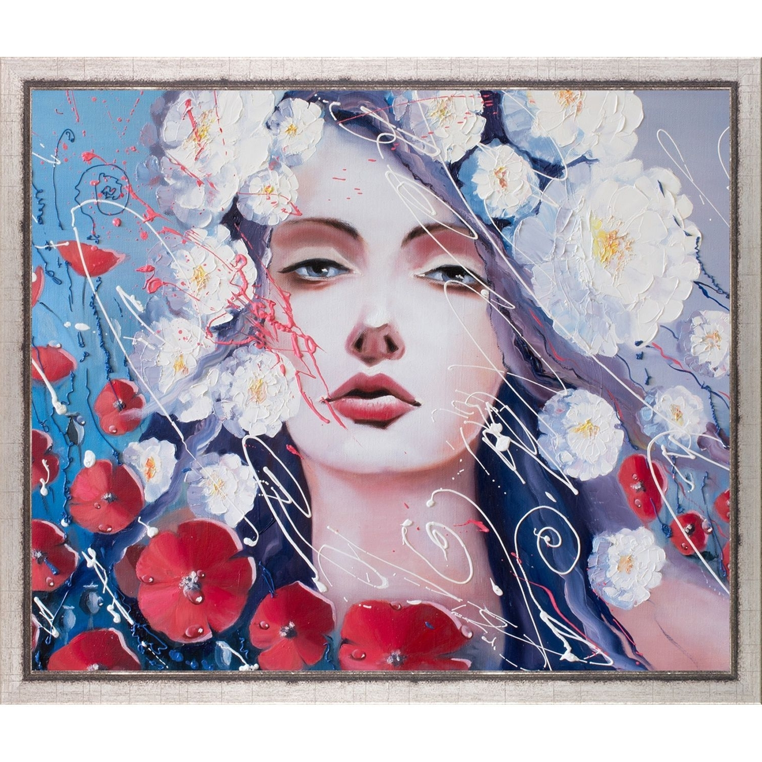 Famous Framed Asian Art Prints Intended For Artistbe Svetlana Tikhonova 'venus Tears' Fine Art Print On Canvas (View 1 of 15)
