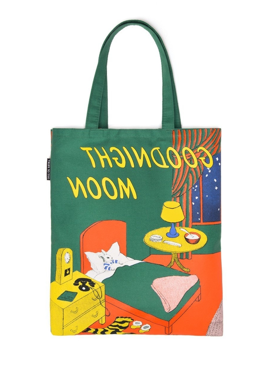 Famous Gordmans Canvas Wall Art In Amazon: Out Of Print Goodnight Moon Tote Bag, 15 X 17 Inches (View 2 of 15)