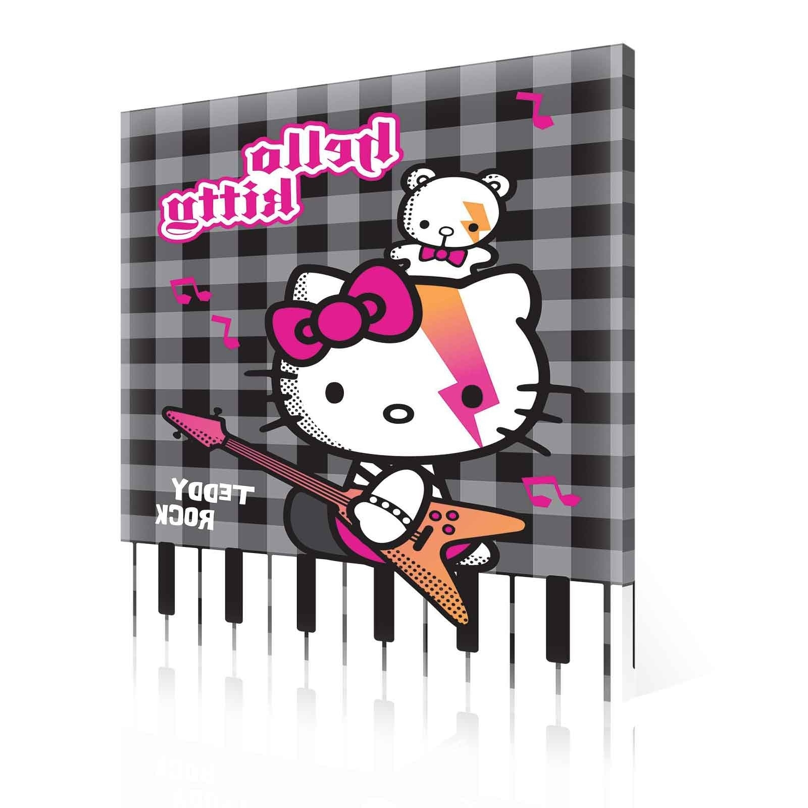 Famous Hello Kitty Canvas Wall Art Intended For Hello Kitty Canvas Print (Ppd447O1) – Top 50 Bestselling Canvas (View 11 of 15)