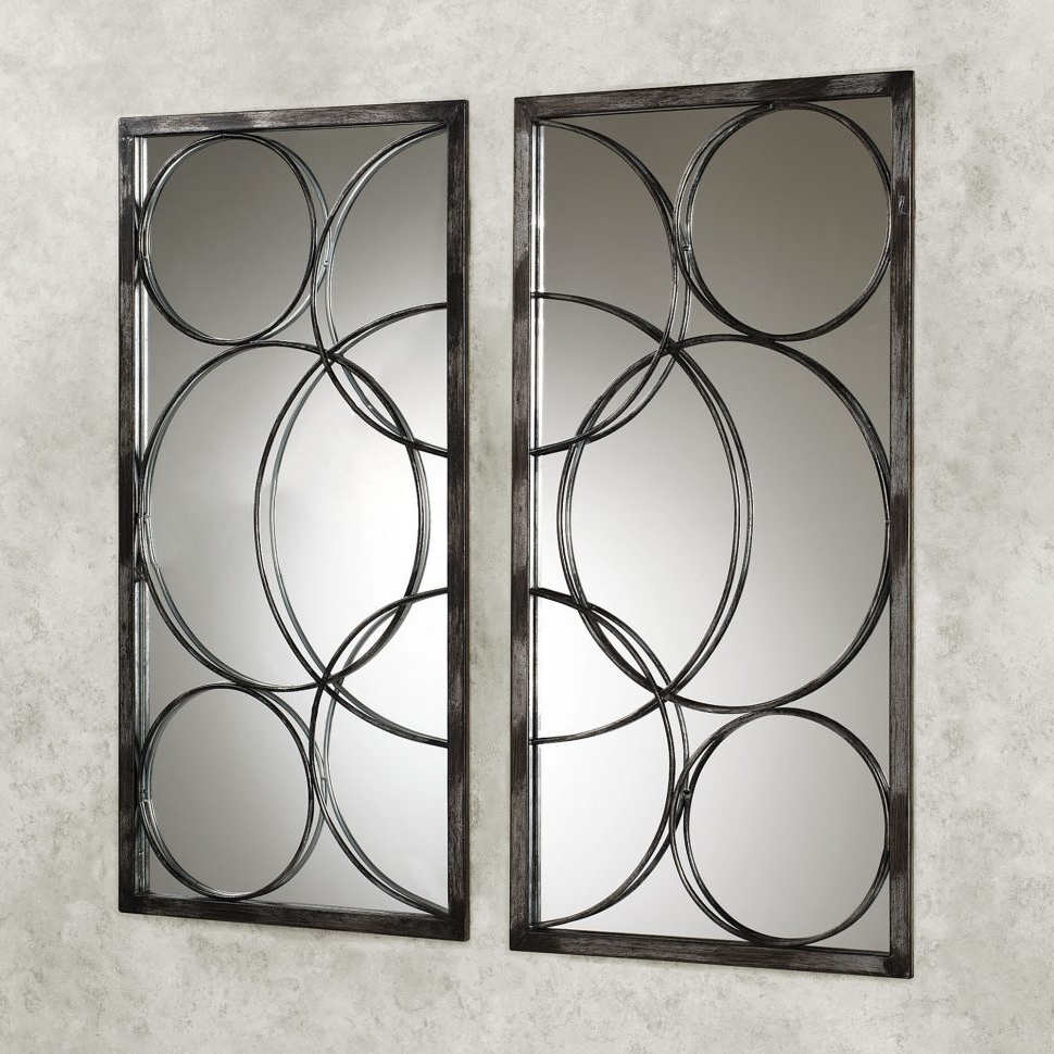 Famous Mirror Sets Wall Accents Intended For Wall Decor : Dining Room Mirrors Bathroom Mirrors Small Decorative (View 6 of 15)