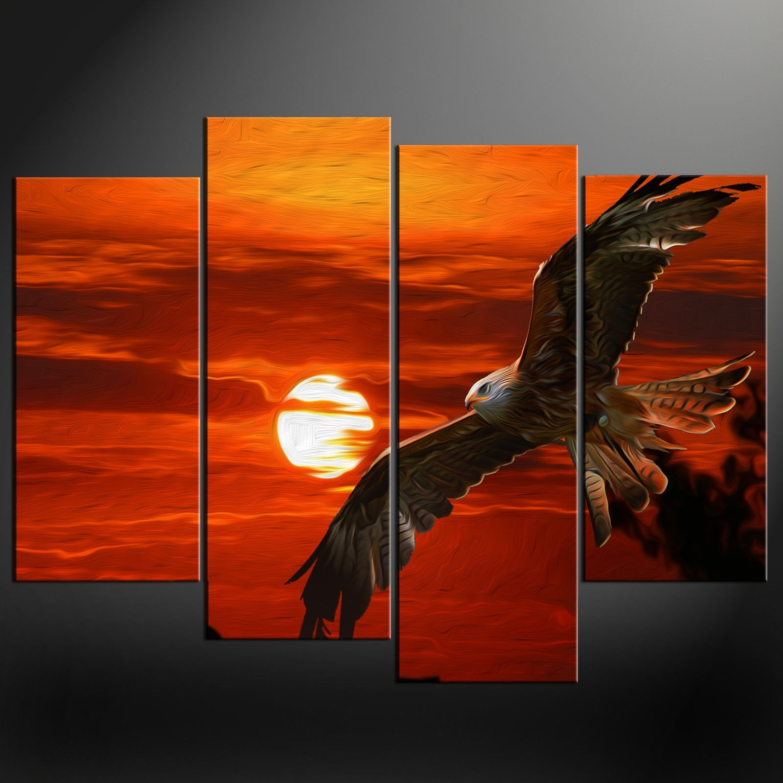 Famous Orange Canvas Wall Art With Regard To Canvas Wall Art Pictures Prints Larger Sizes Available (View 2 of 15)