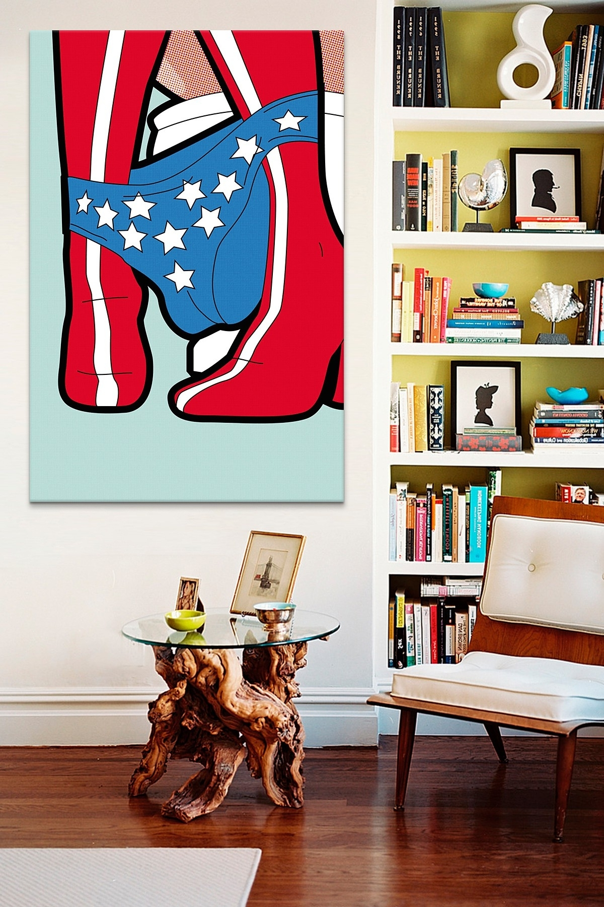 Famous Quirky Canvas Wall Art With Regard To The Secret Life Of Superheroes Wonder Peegreg Guillemin Canvas (View 4 of 15)