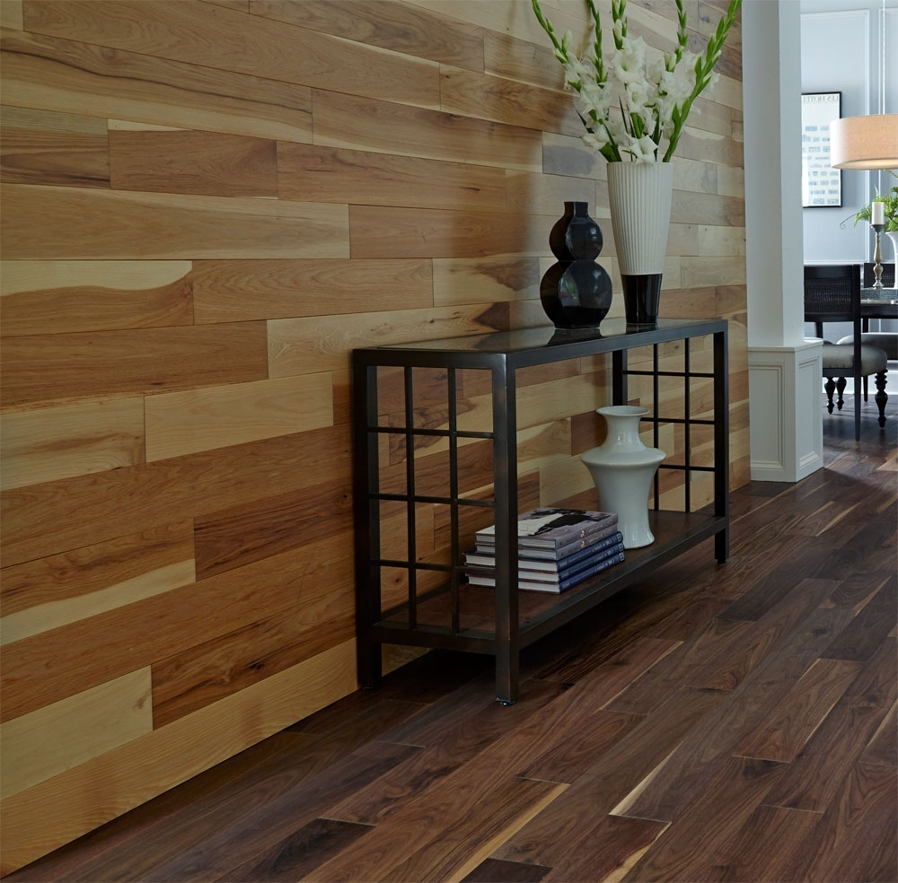 Famous Wall Accents With Laminate Flooring Regarding Adding Character With Accent Walls: 2015 Fall Flooring Trends (View 4 of 15)
