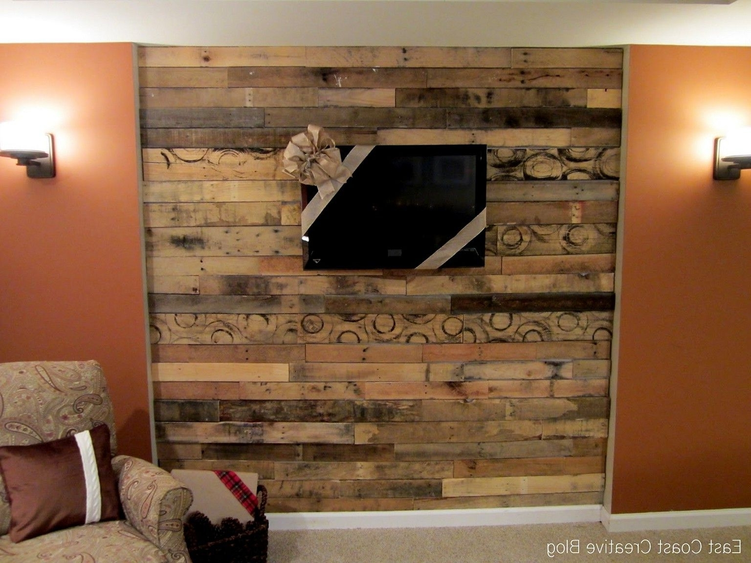 Famous Wall Accents With Tv Regarding 13+ Most Popular Accent Wall Ideas For Your Living Room (View 4 of 15)