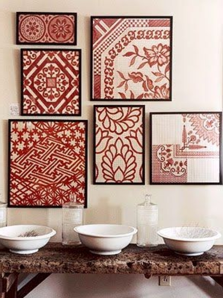 Fashionable Creative Fabric Wall Art For Frame Fabric Wall Art Everyday Art Girls Room Wall Art Framed (View 12 of 15)