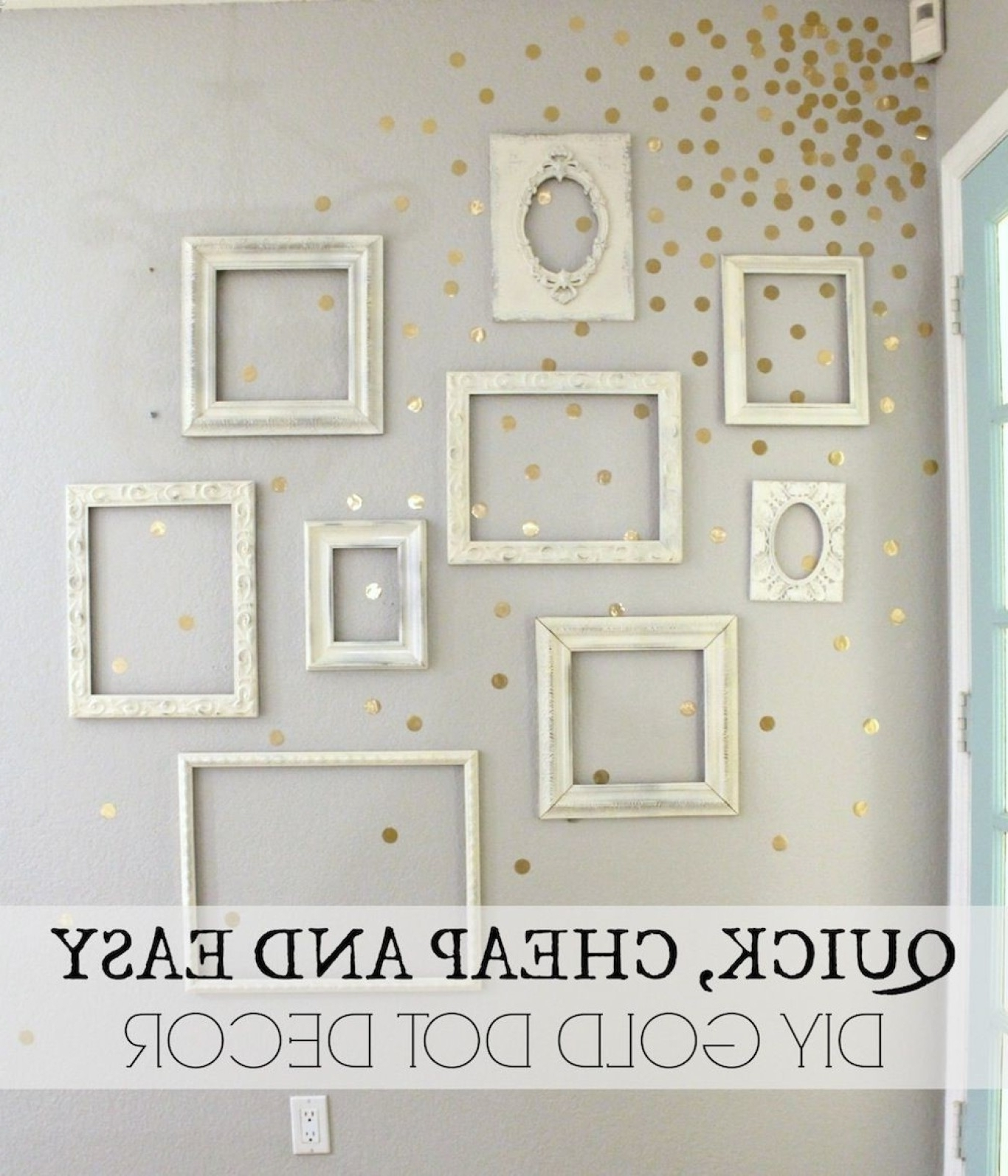 Featured Photo of Gold Wall Accents