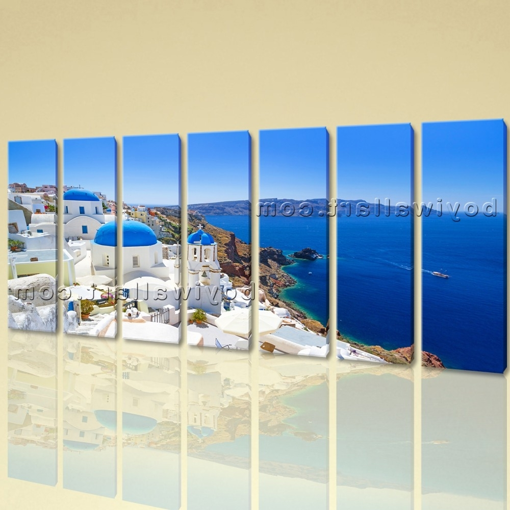 Featured Photo of Greece Canvas Wall Art