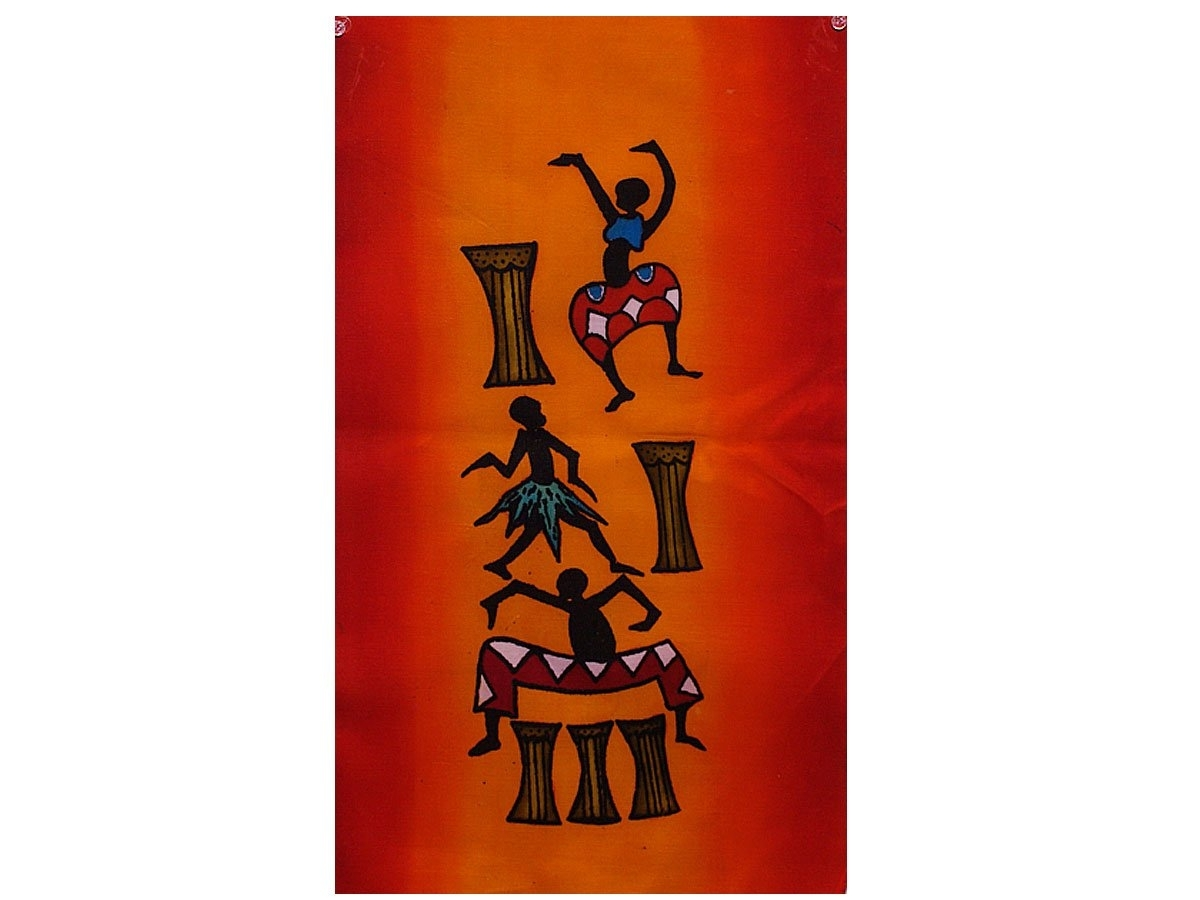 Fashionable Hand Painted Wall Décor From Africa (View 4 of 15)