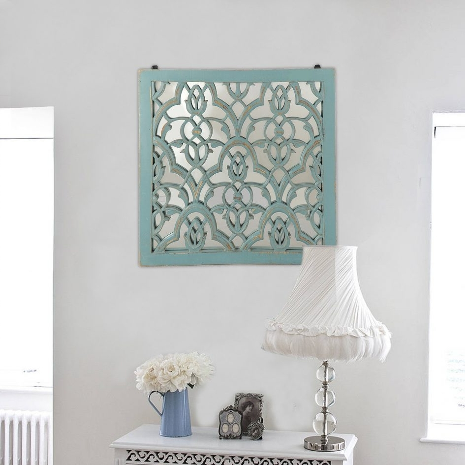 Fashionable Intricate Damask Wall Art In Conjunction With Blue The Yellow Door Pertaining To Damask Fabric Wall Art (View 8 of 15)