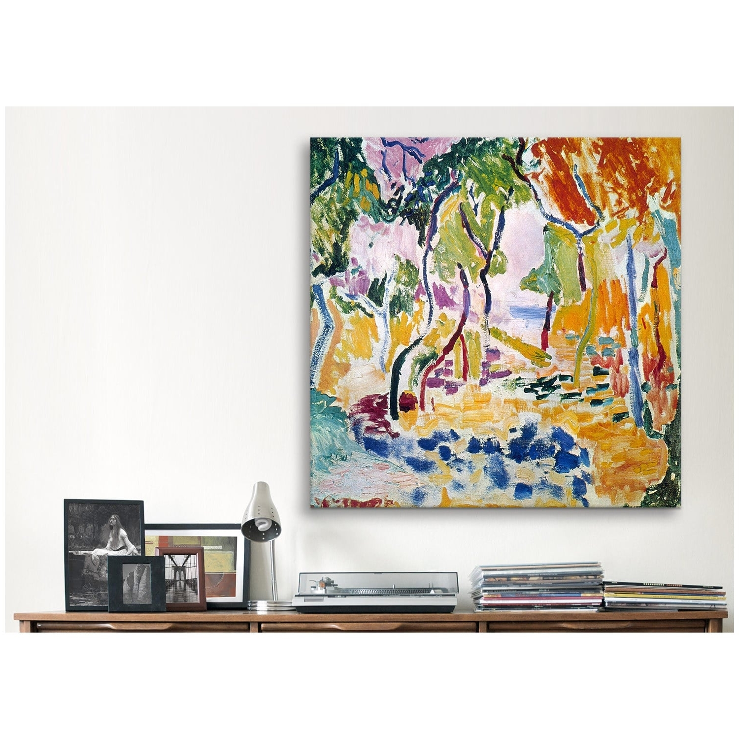Fashionable Joy Canvas Wall Art Within Icanvas Henri Matisse The Joy Of Life Canvas Print Wall Art – Free (View 3 of 15)
