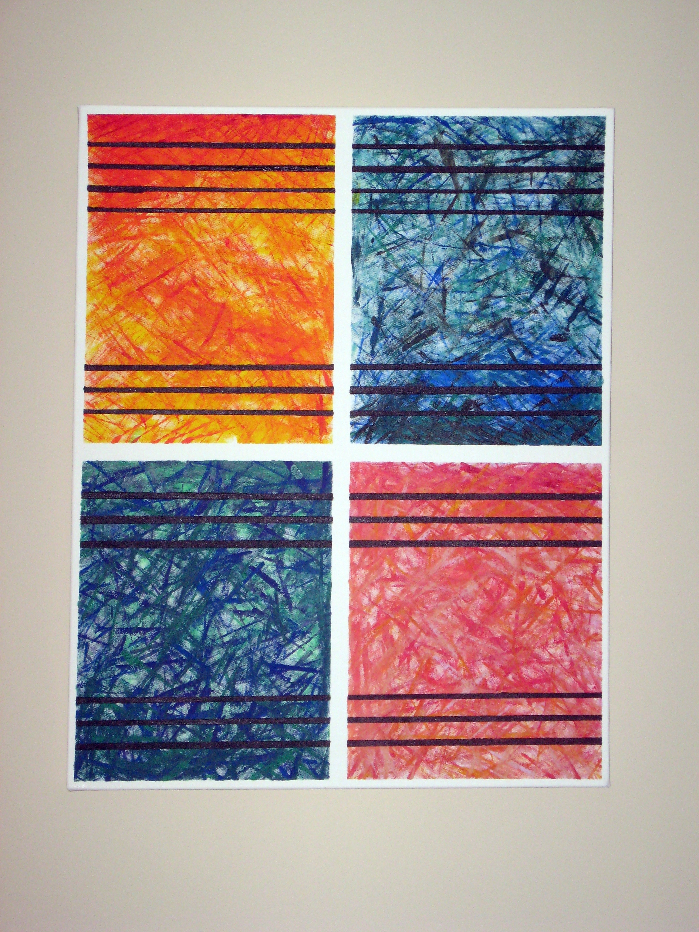 Favorite Abstract Textile Wall Art Pertaining To Diy Abstract Wall Art (View 9 of 15)