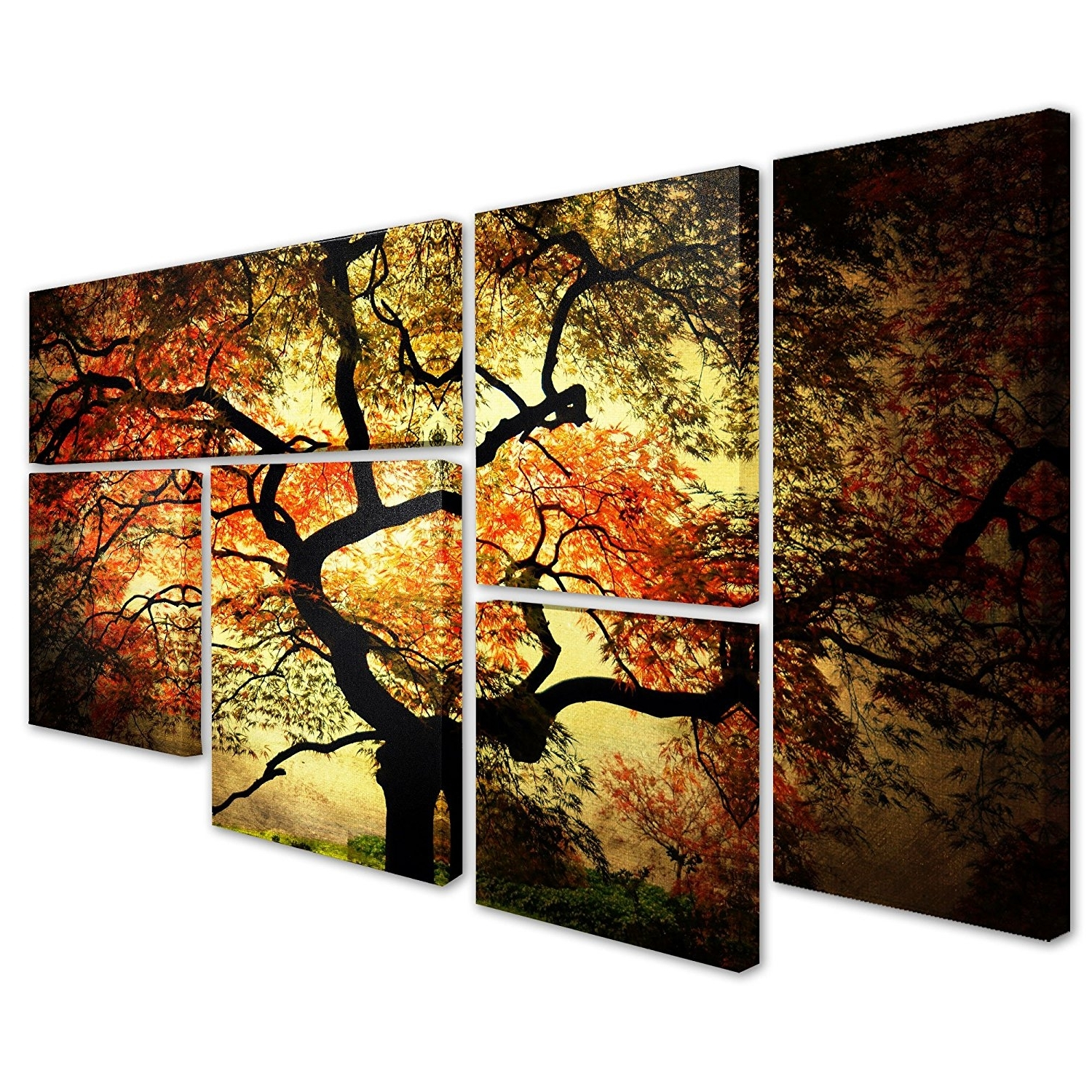 Favorite Amazon: Trademark Fine Art Japanesephilippe Sainte Laudy Regarding Japanese Canvas Wall Art (View 4 of 15)