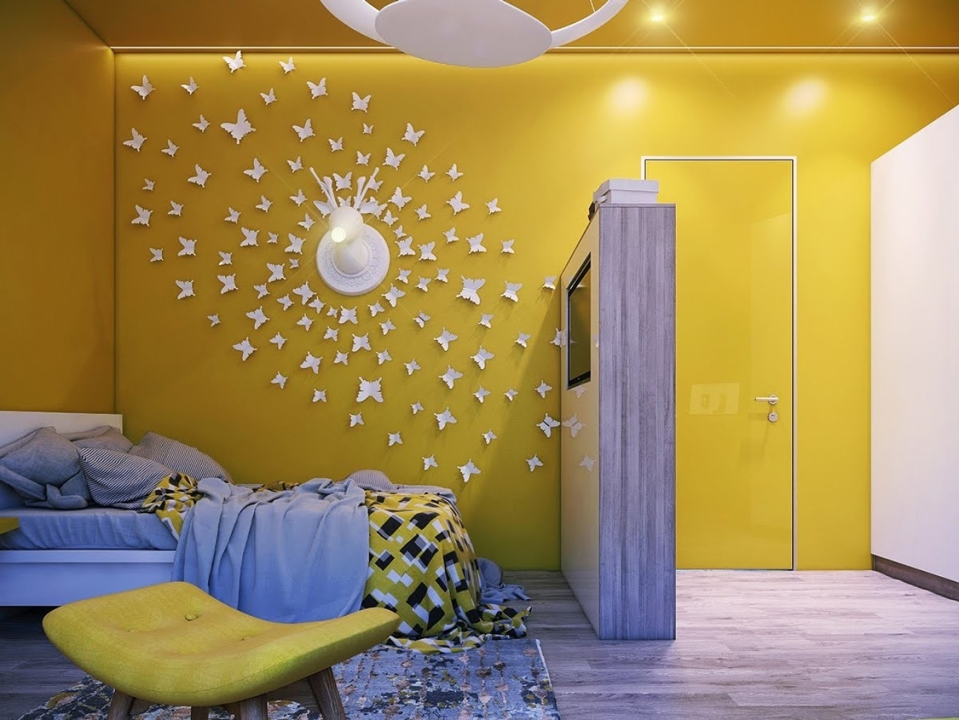 Famous Cloud Wall Decor Composition - The Wall Art Decorations ...