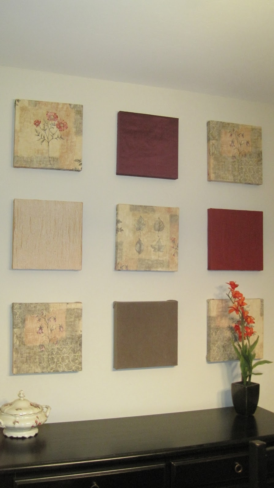 Favorite Fabric Square Wall Art Pertaining To Whimsy Space: Wall Art (View 11 of 15)