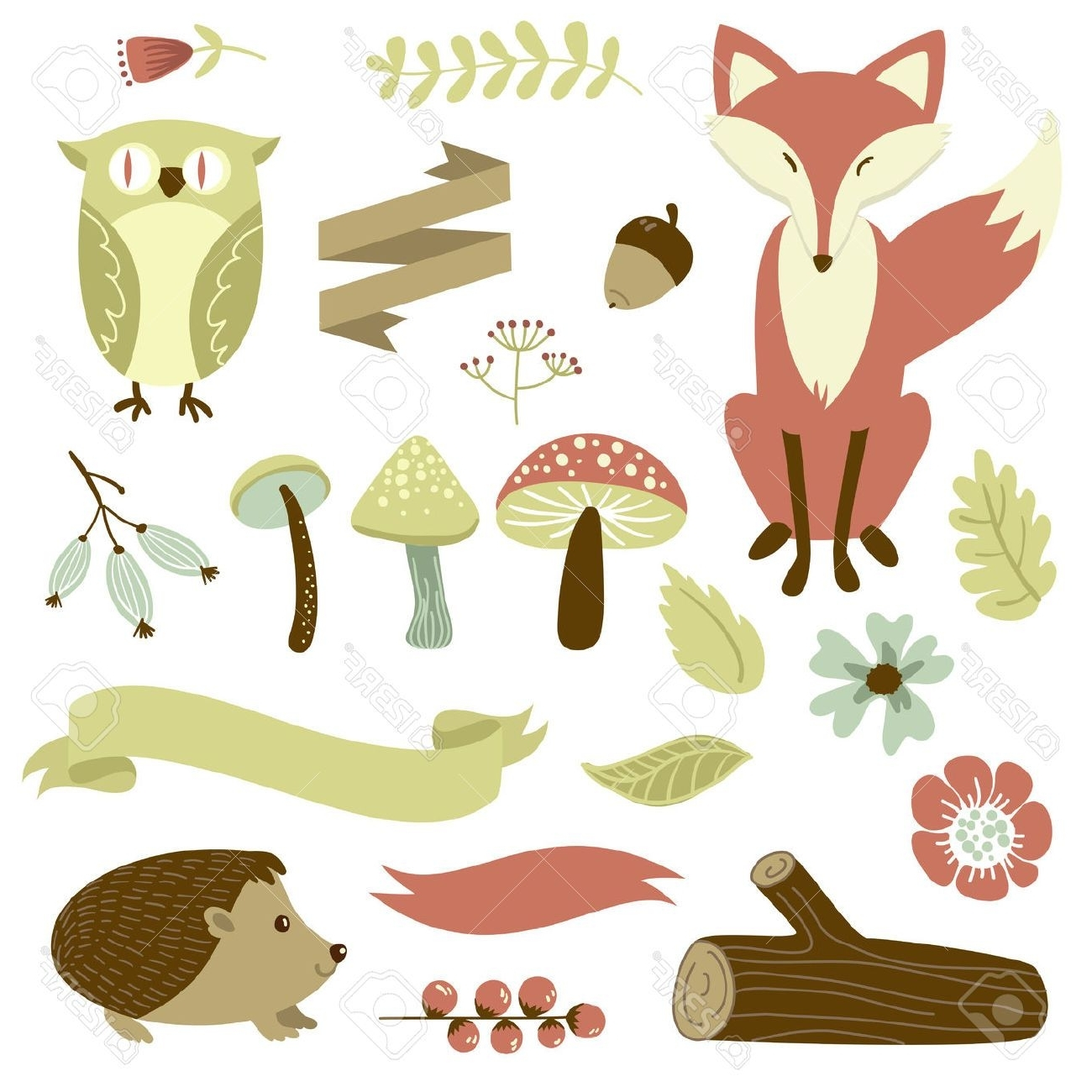 Favorite Free Printable Forest Animal Silhouettes – Google Search With Fabric Animal Silhouette Wall Art (View 6 of 15)