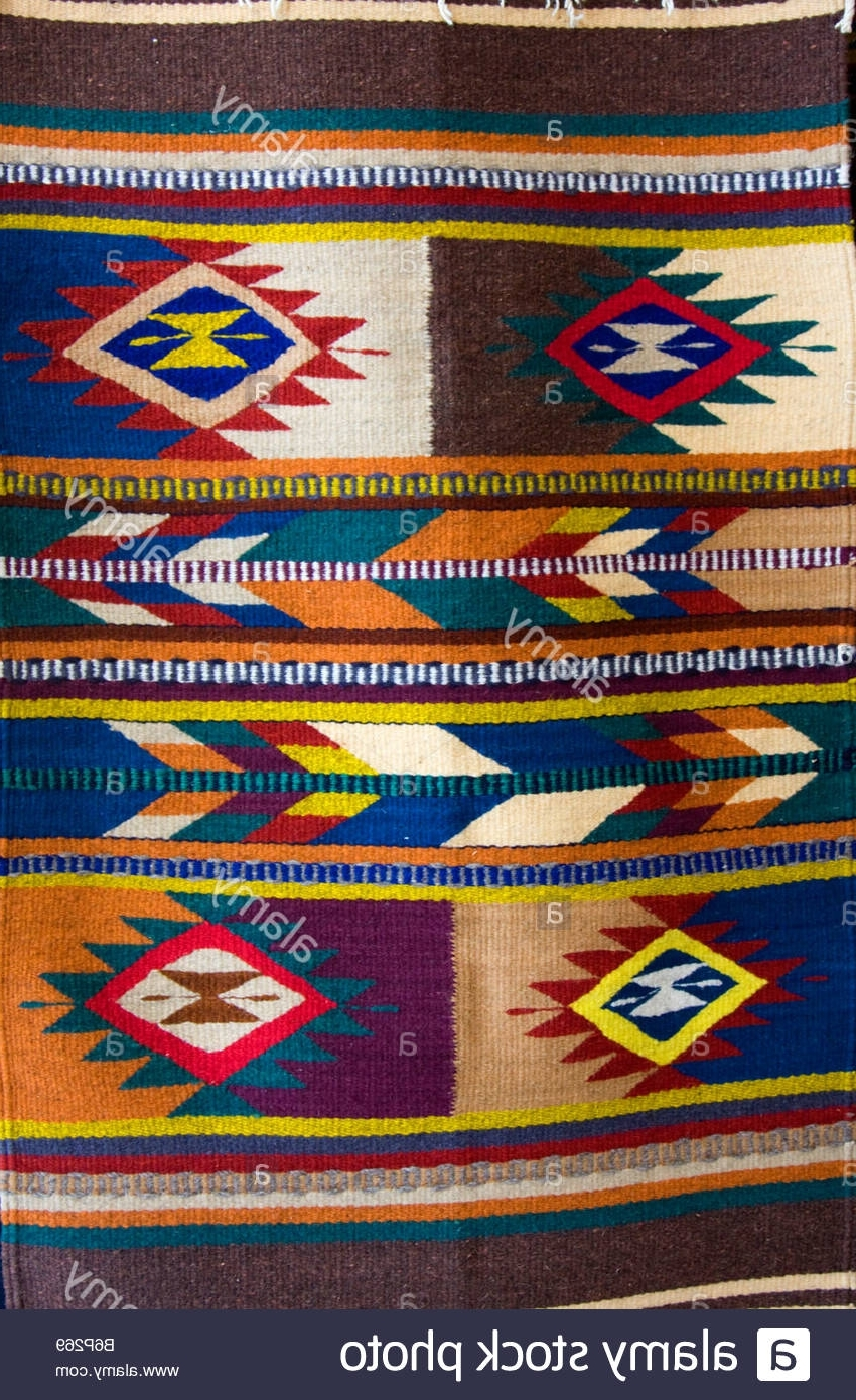 Favorite Geometric Fabric Wall Art Intended For Santa Ana Del Valle, Oaxaca, Mexico (View 5 of 15)