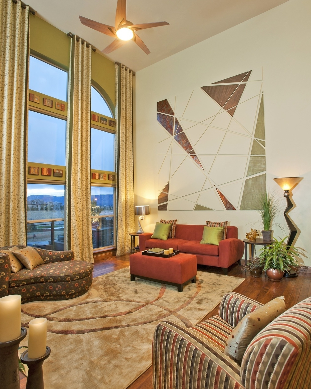 Favorite Paint — Colorado Springs Custom And Model Home Interior Design And Pertaining To Custom Wall Accents (View 8 of 15)