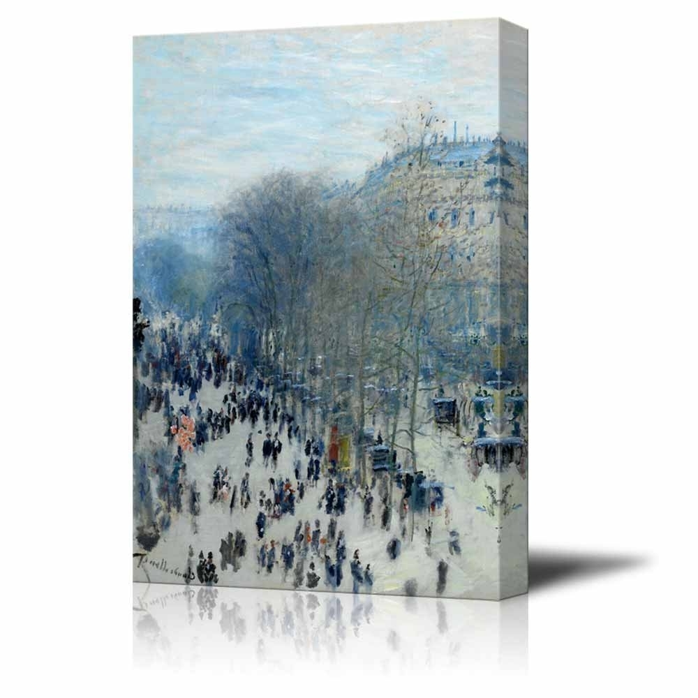 Favorite Wall26 – Art Prints – Framed Art – Canvas Prints – Greeting For Monet Canvas Wall Art (View 4 of 15)