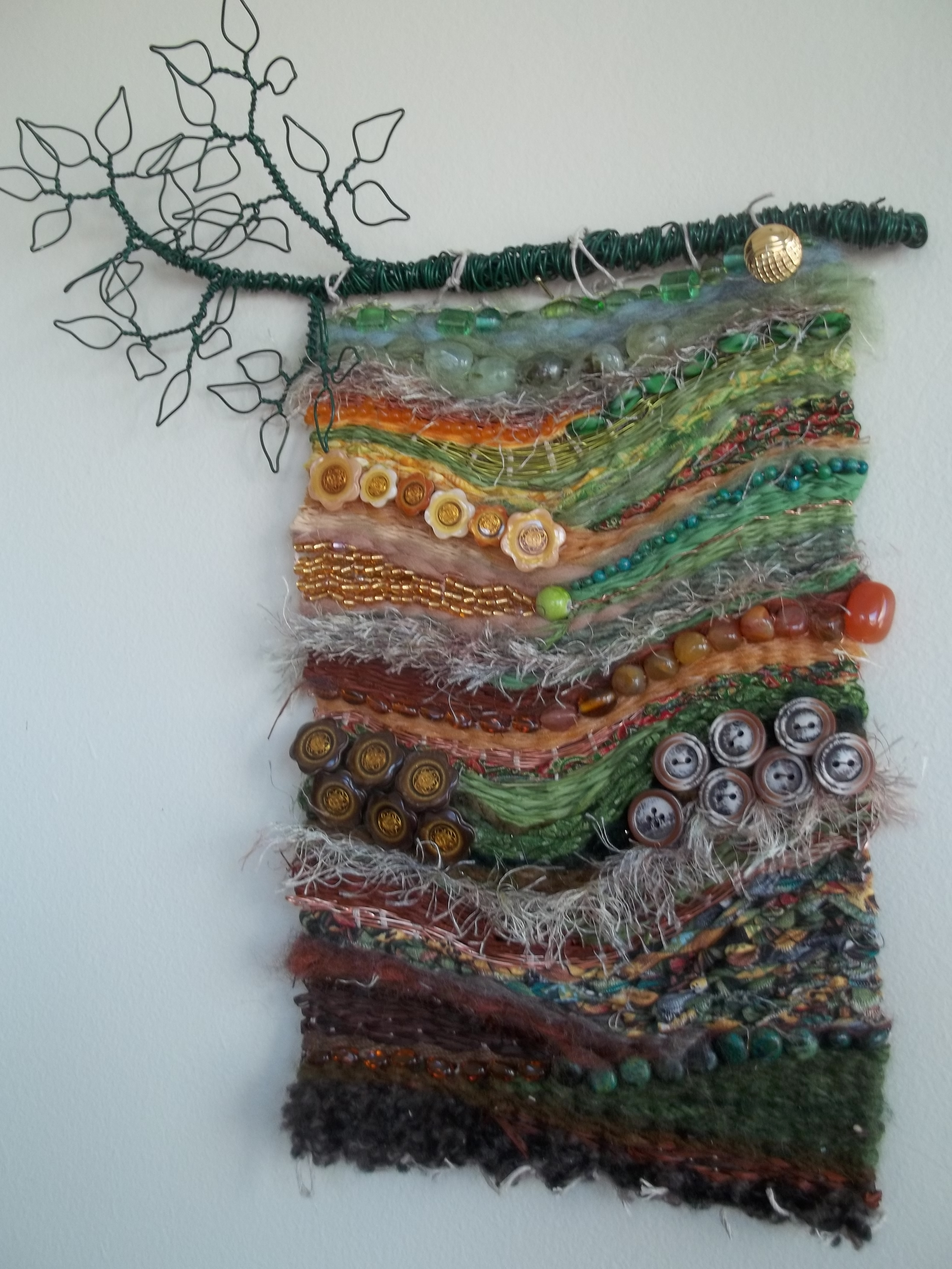 Fiber Art, Wire Wrapping And Wraps (View 6 of 15)
