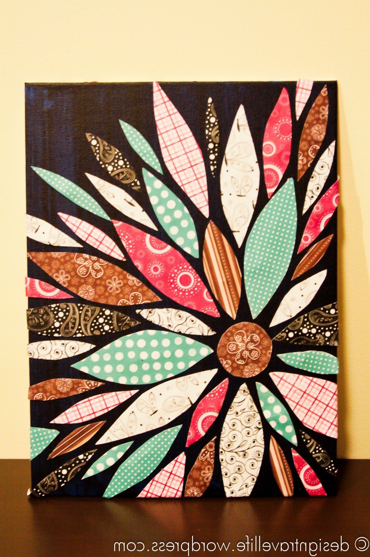 Flower Canvas (View 5 of 15)