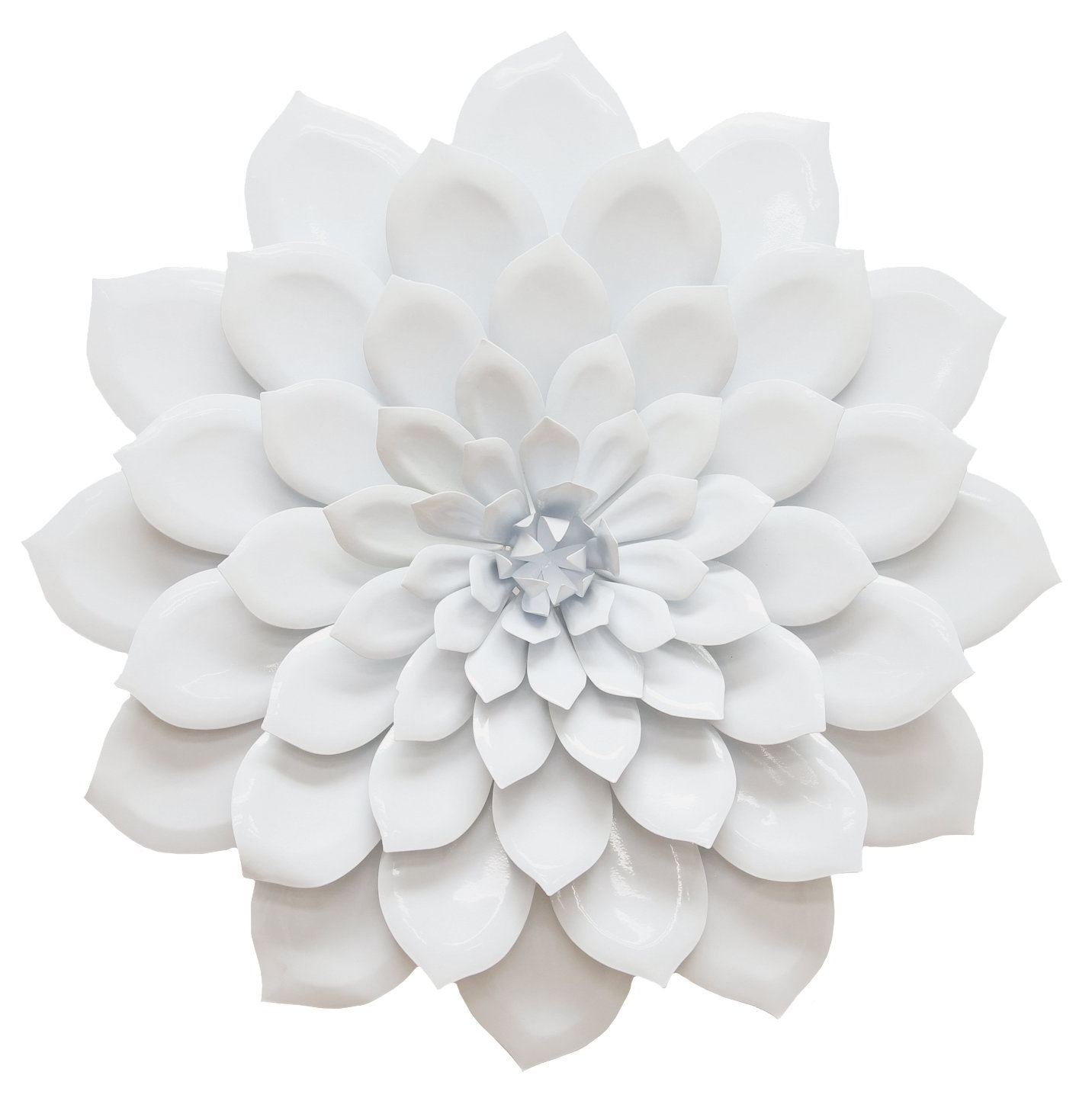 Flowers Wall Accents In Most Current Amazon: Stratton Home Decor Shd0018 Layered Flower Wall Decor (View 5 of 15)