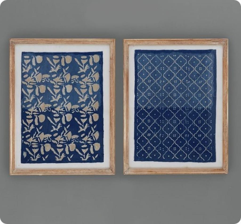 Frame Fabric Wall Art Thai Fabric Wall Art West Elm Best Model Regarding Current Thai Fabric Wall Art (View 7 of 15)