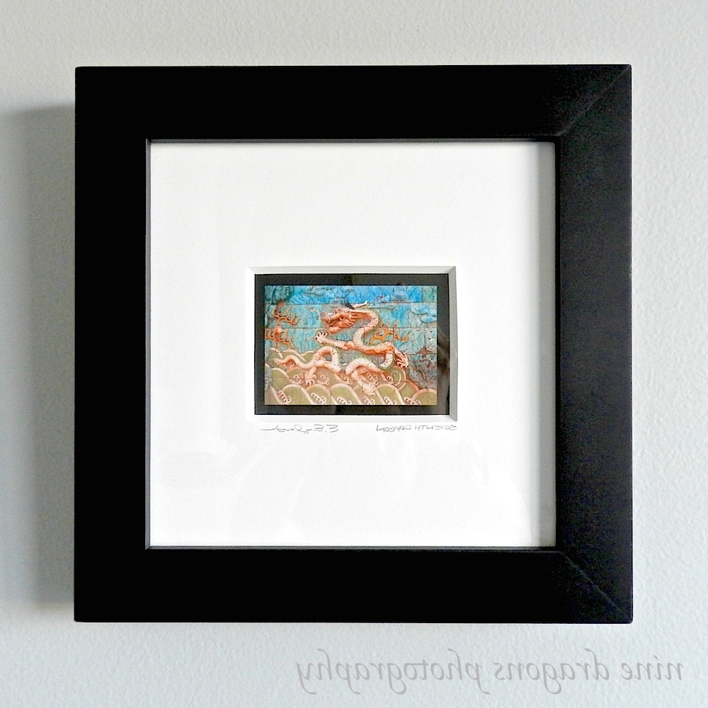 Framed Art Asian Dragon Art Framed Wall Art Framed For Popular Framed Asian Art Prints (View 2 of 15)