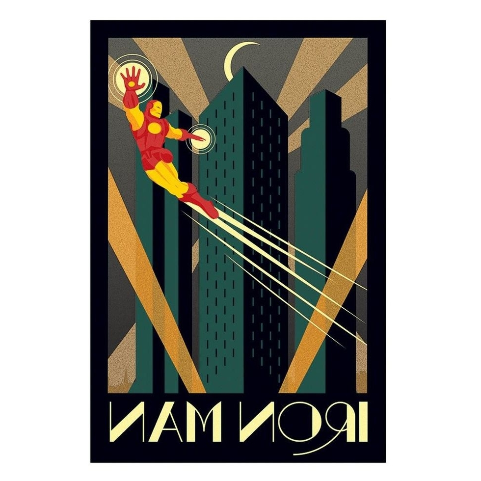 Framed Art Deco Prints For Well Known Image Result For Art Deco Prints (Gallery 4 of 15)