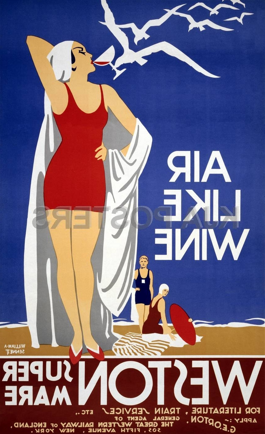 Framed Art Deco Prints With Regard To Recent Vintage Travel Posters – Google Search (View 8 of 15)