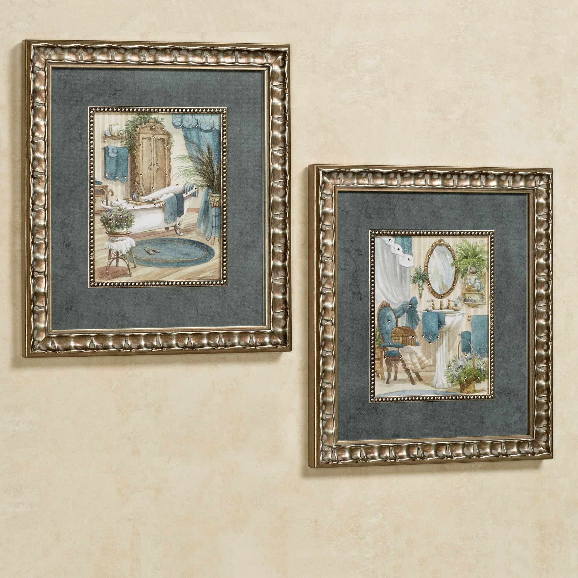 Framed Art Prints Pertaining To Most Up To Date Victorian Bath Framed Wall Art (View 8 of 15)