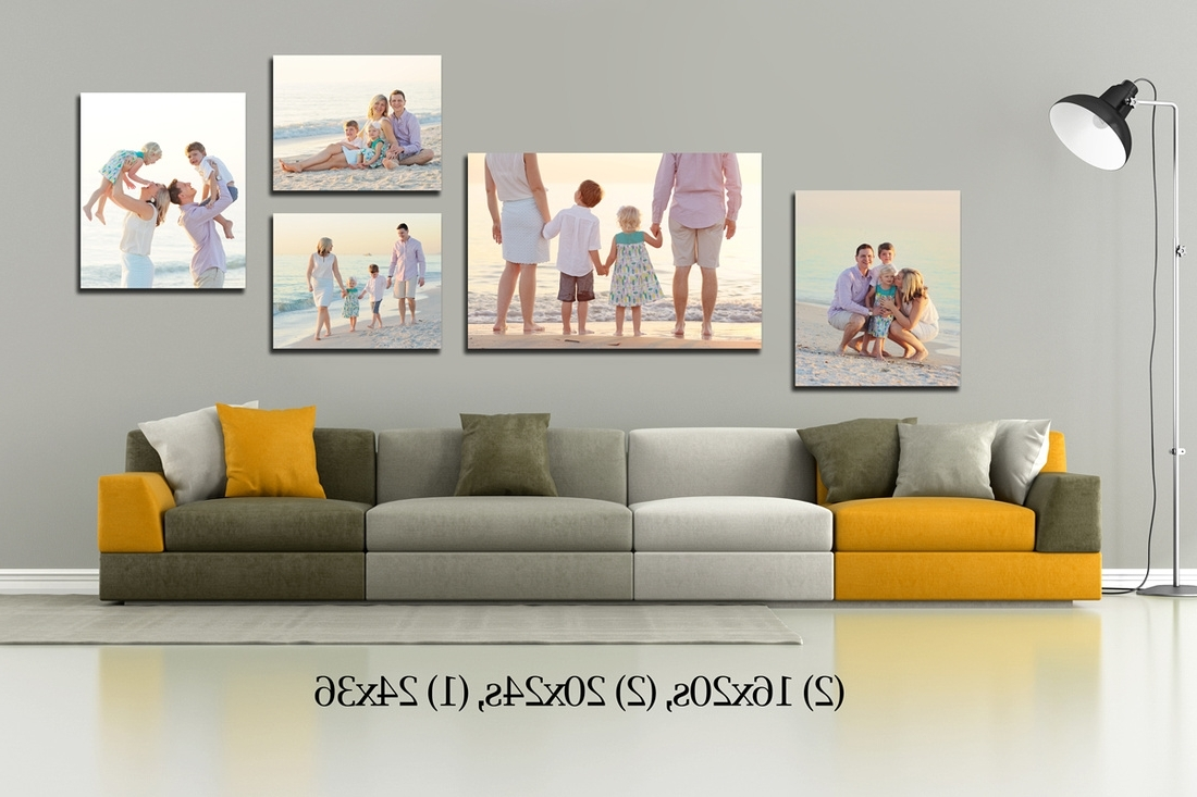 Fresh Wall Art Canvas Groupings Pertaining To Most Recent Groupings Canvas Wall Art (View 7 of 15)