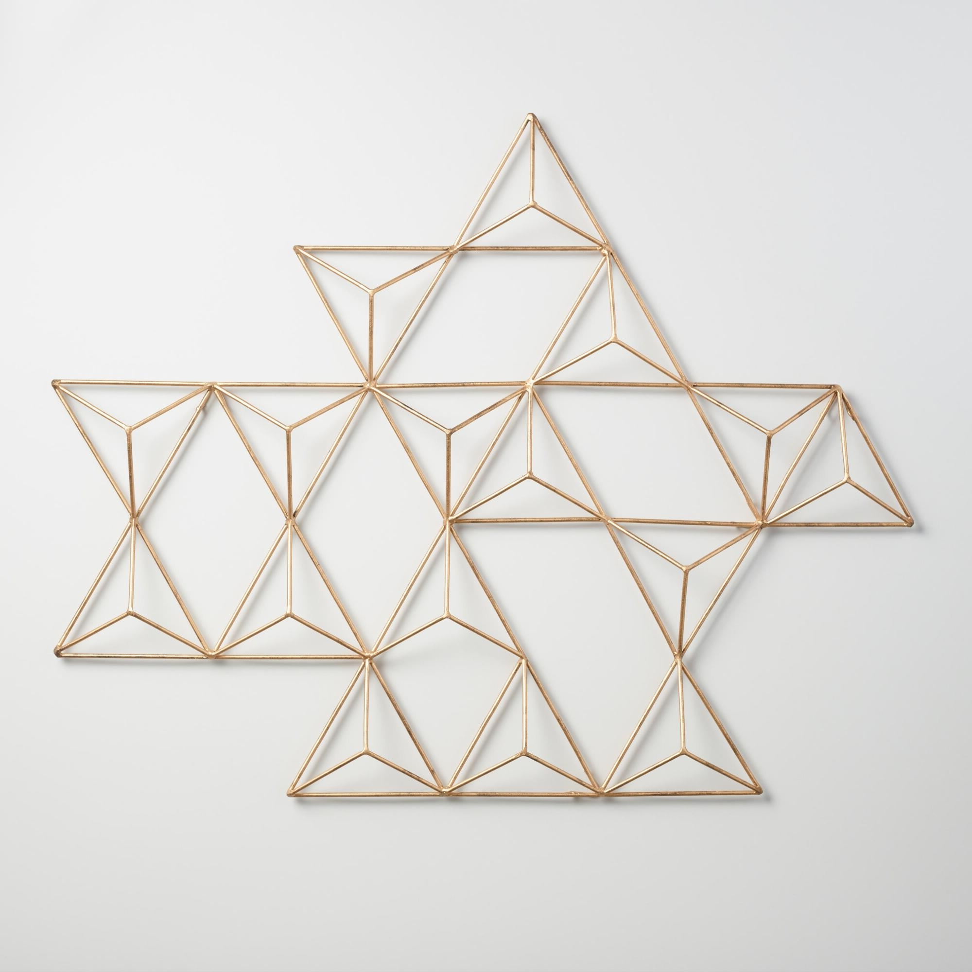 Geometric Fabric Wall Art With Regard To Trendy Decor : 91 Lovely Fabric Wall Art Ideas Geometric Wall Art Modern (View 7 of 15)