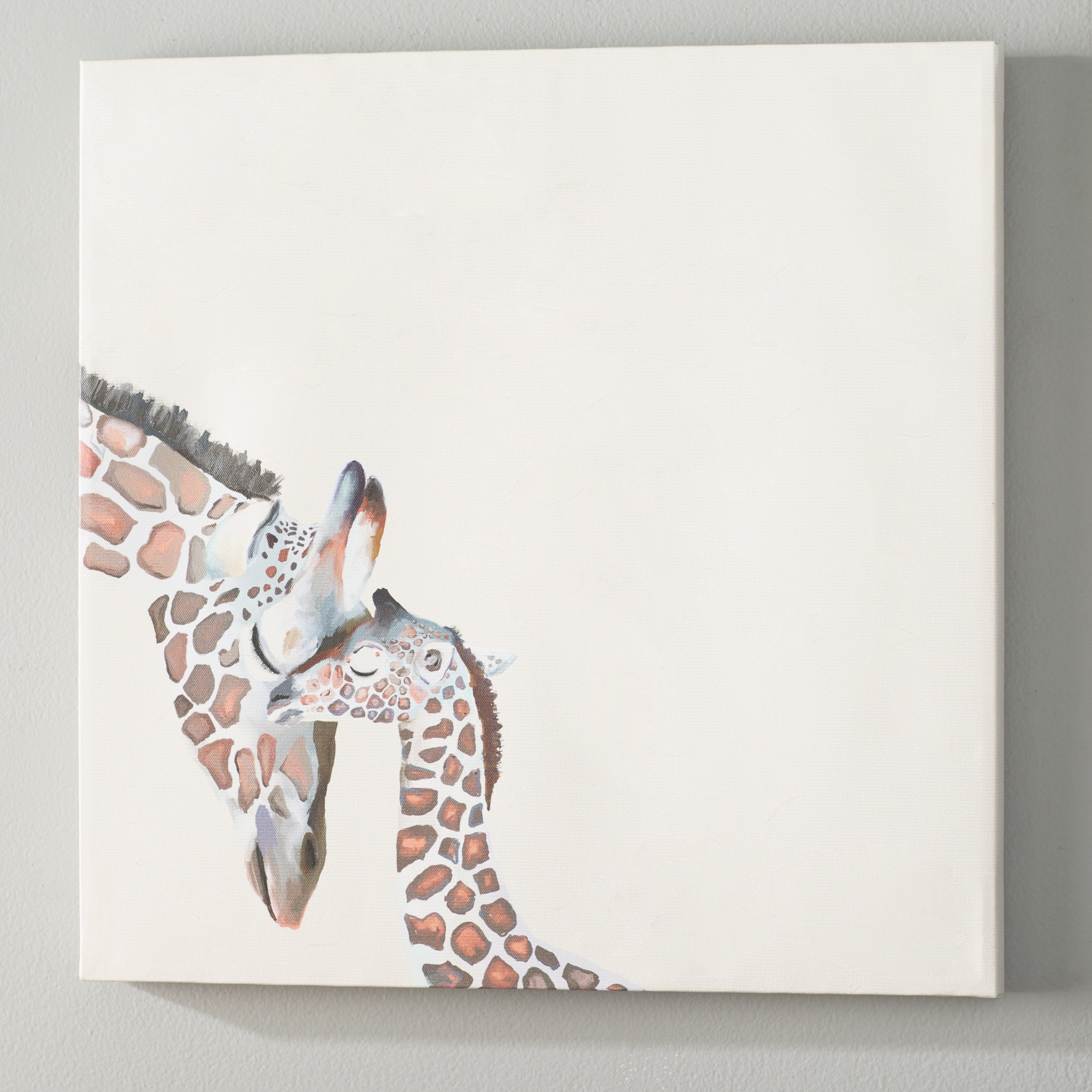 Giraffe Canvas Wall Art Regarding Widely Used Viv + Rae Kris You And Me Giraffe Canvas Wall Art & Reviews (Gallery 12 of 15)