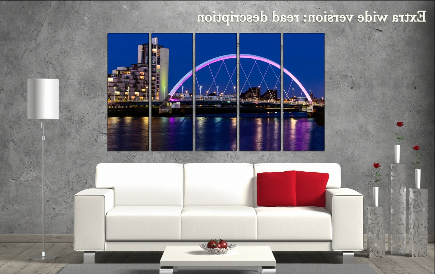 Glasgow Canvas Wall Art Regarding 2018 Glasgow Canvas Wall Art Glasgow Wall Decoration Glasgow Canvas (View 3 of 15)