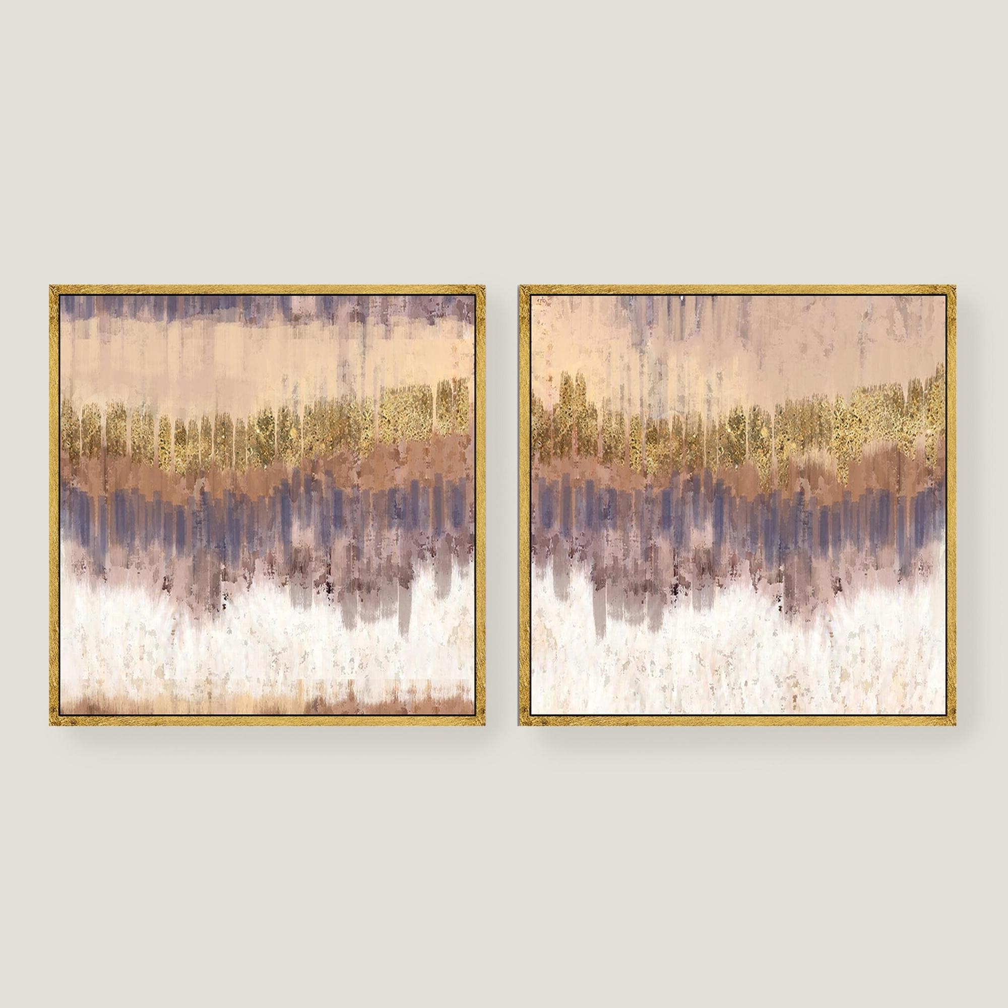 Gold Canvas Wall Art In Well Known Wall Art Designs: Kirklands Wall Art Golden Field Abstract Canvas (View 5 of 15)
