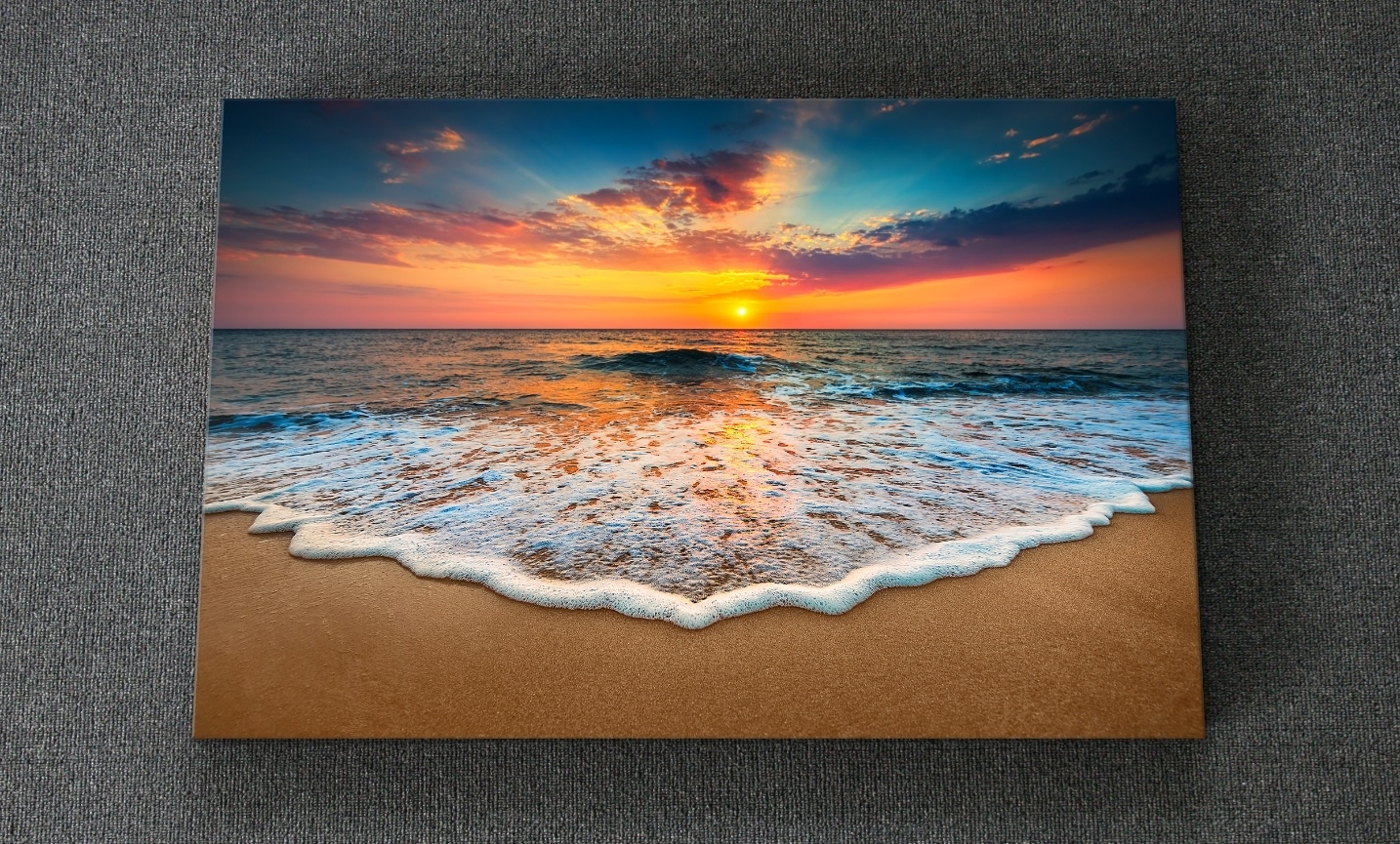 Gold Coast Canvas Wall Art Pertaining To Most Up To Date Hd Canvas Printing (View 6 of 15)