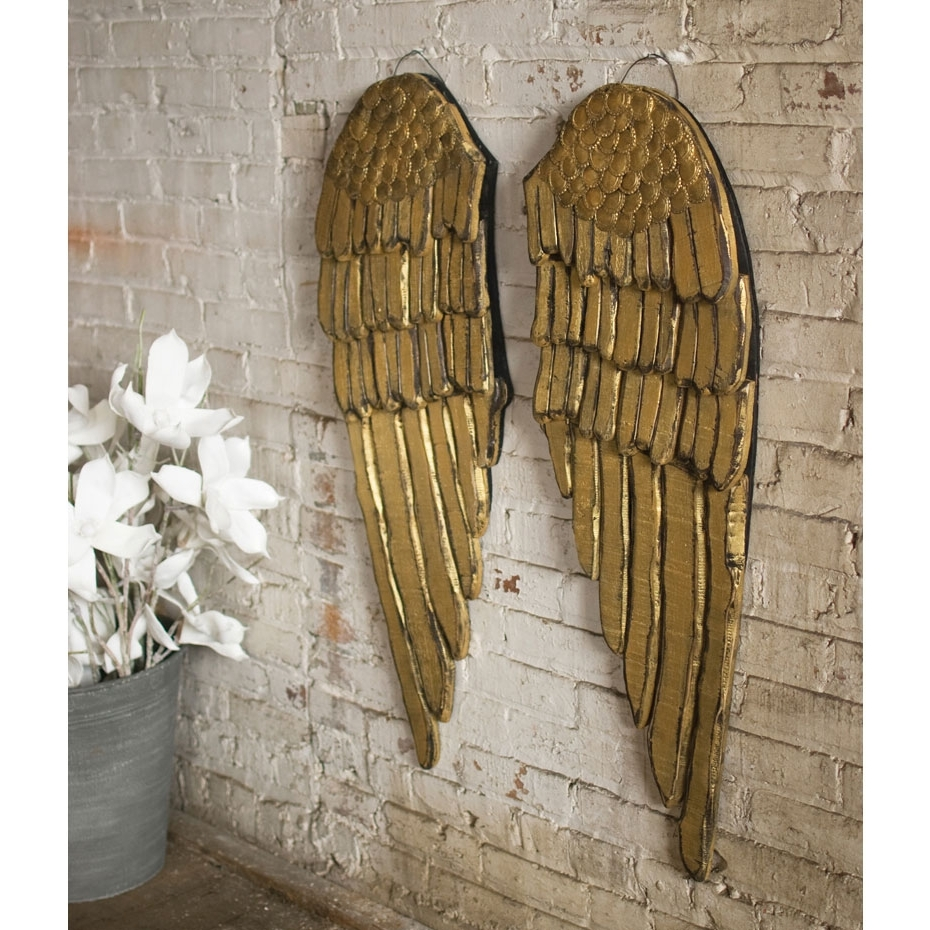 Gold Wall Accents For Most Current 24 Nonpareil Gold Wall Decor That Surprising (View 3 of 15)