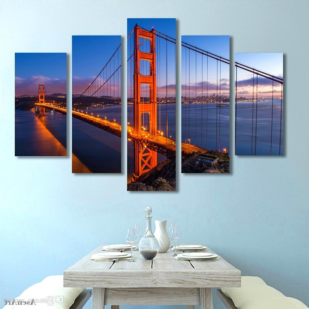 Featured Photo of Golden Gate Bridge Canvas Wall Art