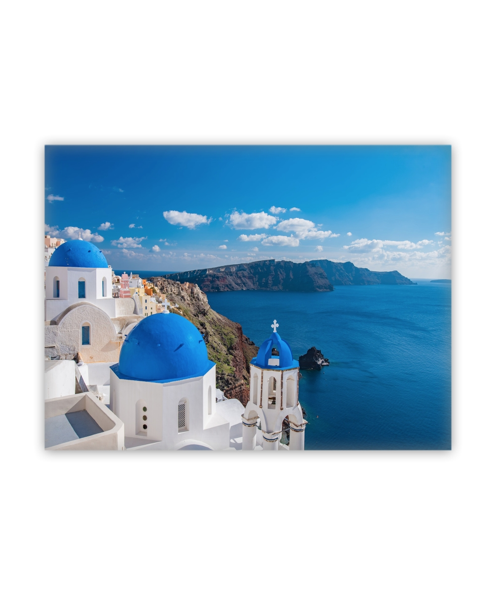 Greece Canvas Wall Art Pertaining To Fashionable Santorini Greece Canvas Wall Art (View 8 of 15)