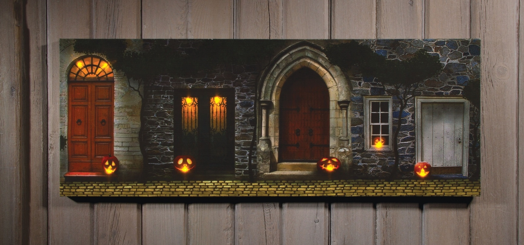 Halloween Led Canvas Wall Art For Most Recently Released Image From Http://ep.yimg/ay/yhst 16633577946644/radiance (Gallery 3 of 15)