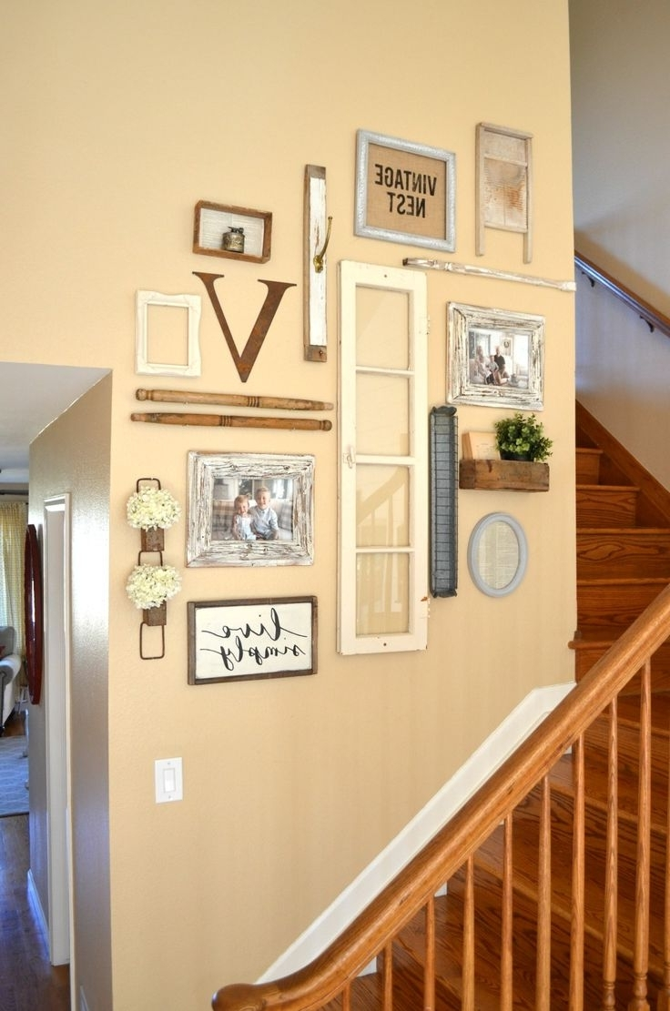 Stunning Decorating Staircase Walls Contemporary - The Wall Art ...