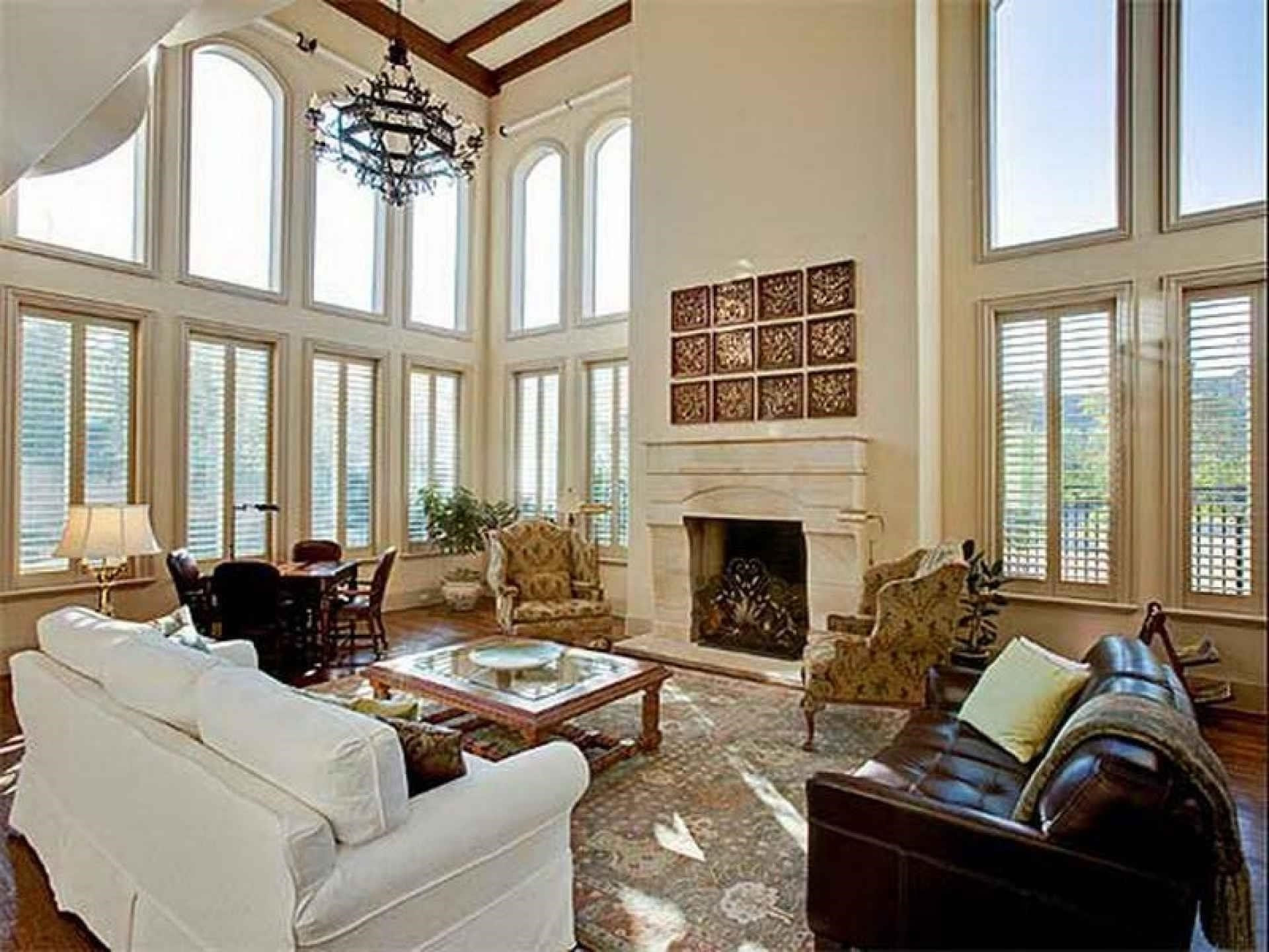 High Ceiling Family Room Decorating Ideas Dilatatori Biz ~ Loversiq With Famous High Ceiling Wall Accents (View 3 of 15)