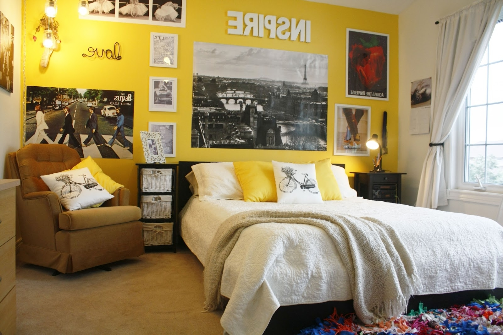 Showing Gallery of Yellow Wall Accents (View 9 of 15 Photos)