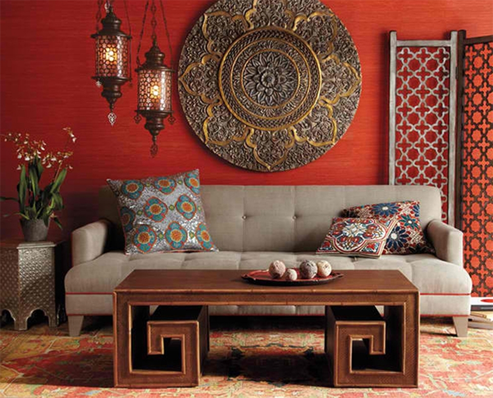 Home Furniture Intended For Best And Newest Asian Wall Accents (View 11 of 15)