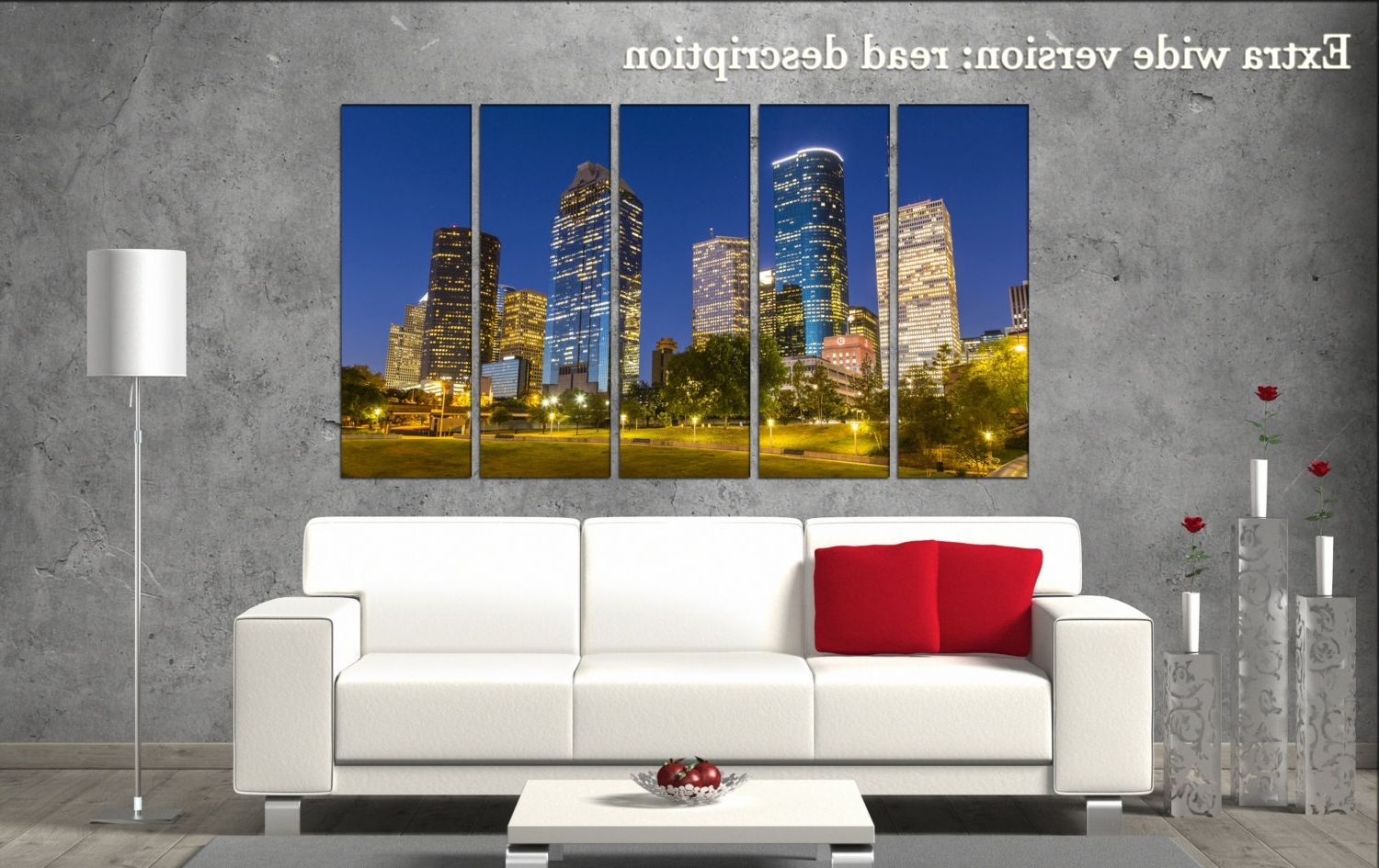 Houston Canvas Wall Art Inside Fashionable Houston Wall Decor Art Houston Black White Houston Canvas Wall Art (View 8 of 15)