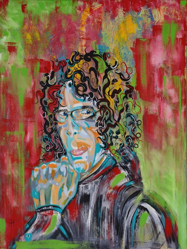 Featured Photo of Howard Stern Canvas Wall Art