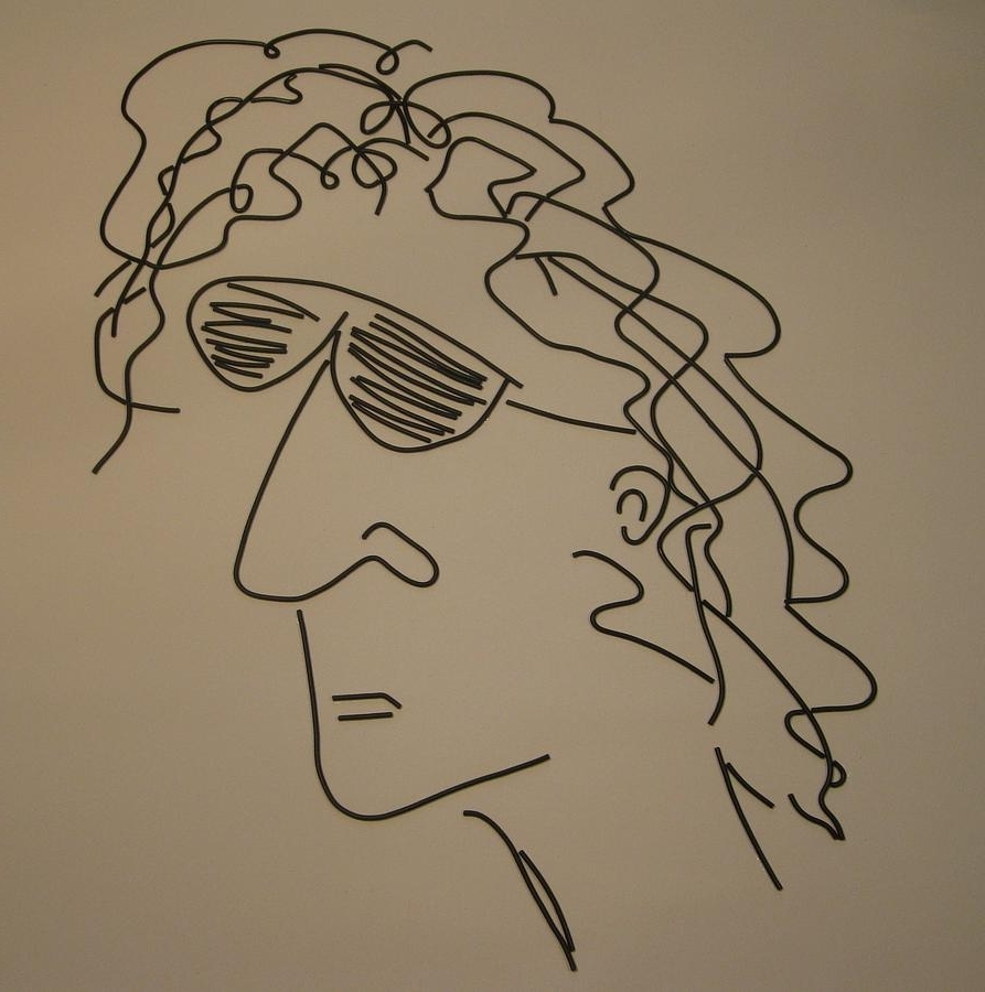 Howard Stern Canvas Wall Art Regarding Most Recent Howard Stern Mixed Mediapeter Virgancz (Gallery 14 of 15)