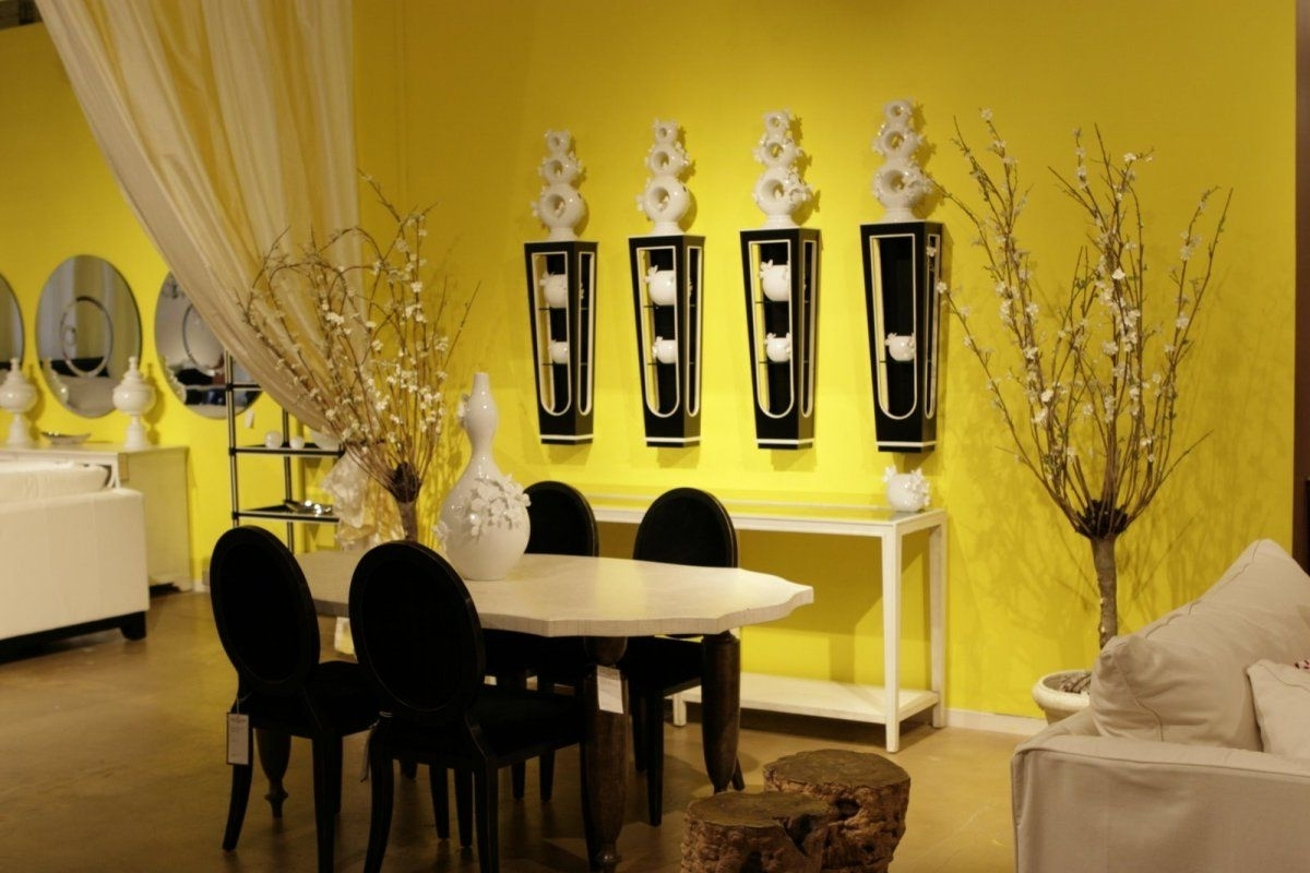 Ideas Unique Wall Decor — Radionigerialagos For Preferred Yellow Wall Accents (View 5 of 15)