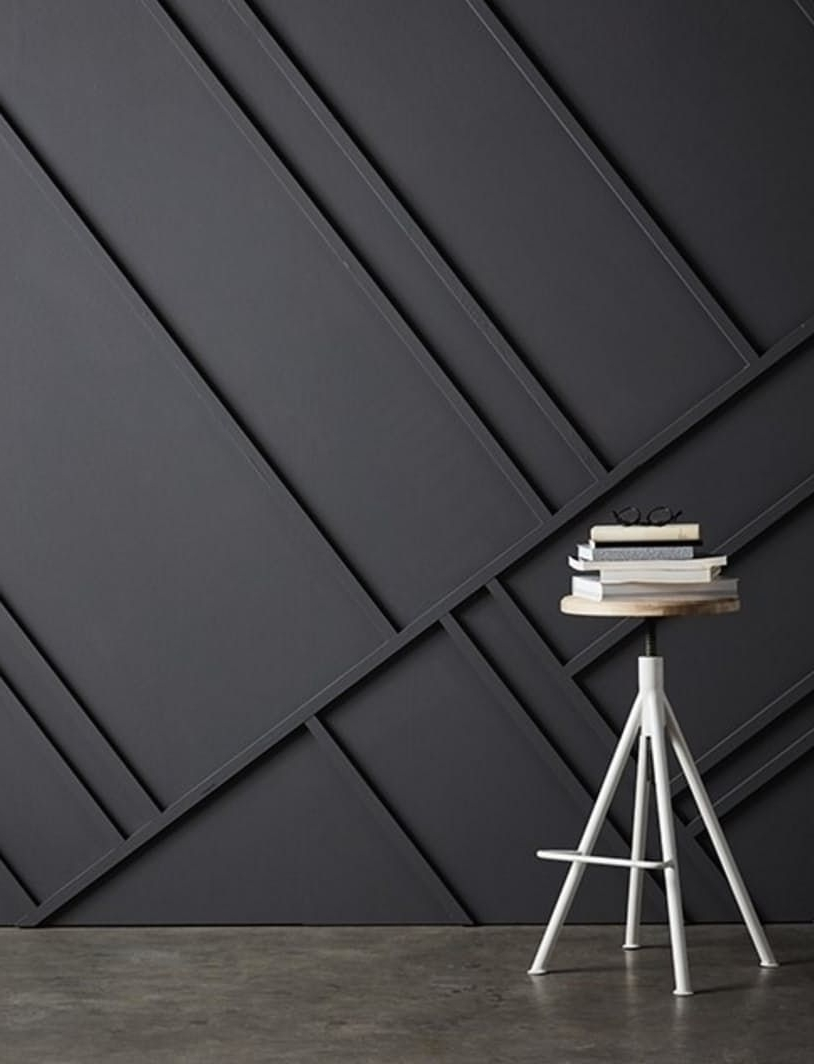 Instant Architecture: Modern Wall Molding Patterns + Trim Ideas Pertaining To Newest Modern Wall Accents (View 1 of 15)