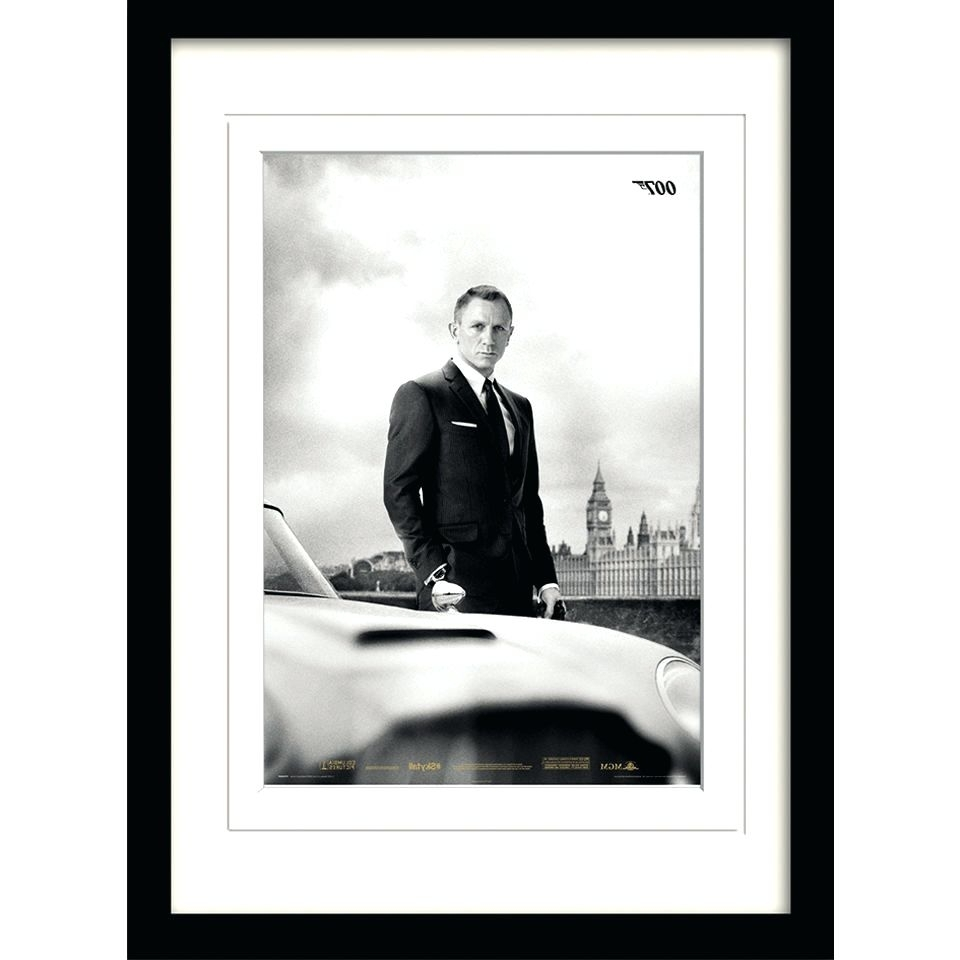 James Bond Canvas Wall Art Inside Well Known Wall Arts ~ Bond James Bond 040Th James Bond Canvas Artwork James (Gallery 10 of 15)